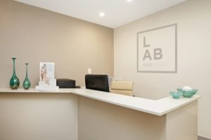 L.A.B skin clinic reception